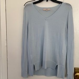 Loft Powder Blue Sweater